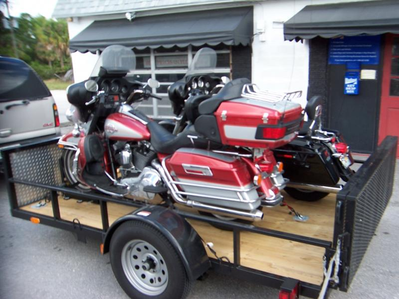 Wallace Trailer Motorcycle Trailer